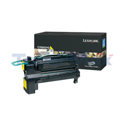 LEXMARK C792 PRINT CART YELLOW 20K